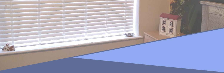 Faux wood blinds Runcorn