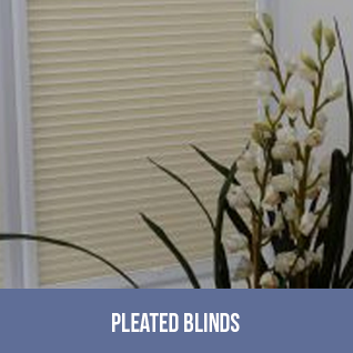 Panda Blinds - Image of Pleated Blinds link